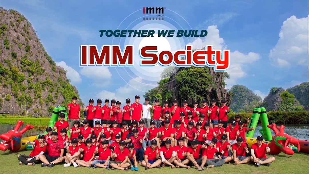 [Video] IMM Group Team Building 06/2019 Ninh Binh Together We build IMM Society
